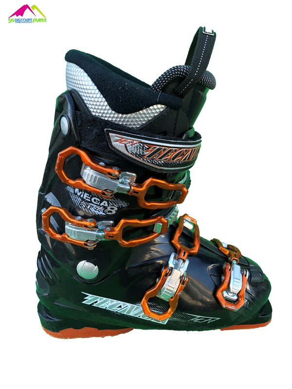 chaussures de ski occasion tecnica mega rt black orange
