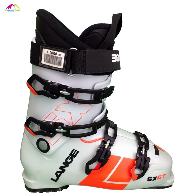 chaussures de ski test lange sx gt rtl 2018 white orange