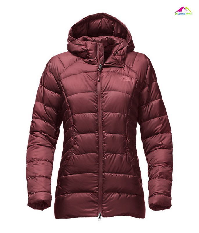 doudounne the north face femme tonnero parka purple