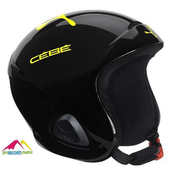 Casque de ski Cébé Ellips Noir Lime