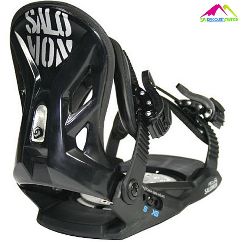 fixations de snow junior salomon piq black