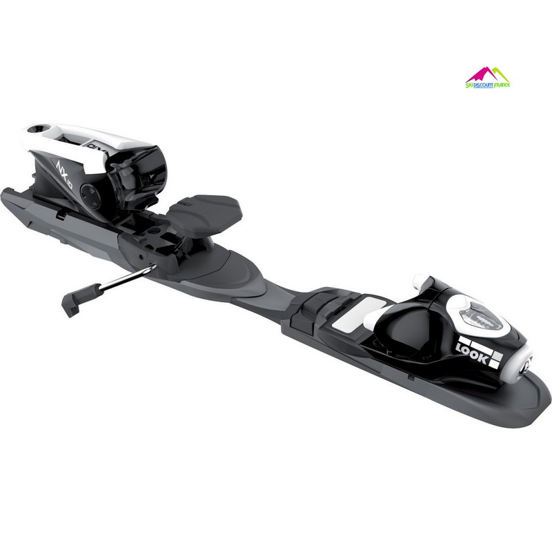 fixations de ski reglable sur rail look nx10 demo b83 black white
