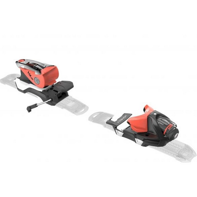 fixations de ski look nx 12 dual wtr black red