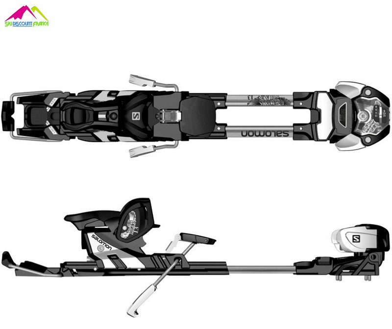 fixations de ski mixte freerando salomon guardian wtr13 c100