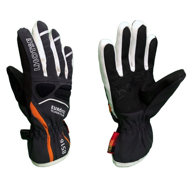 gants de ski neufs junior lhotse koto gris orange
