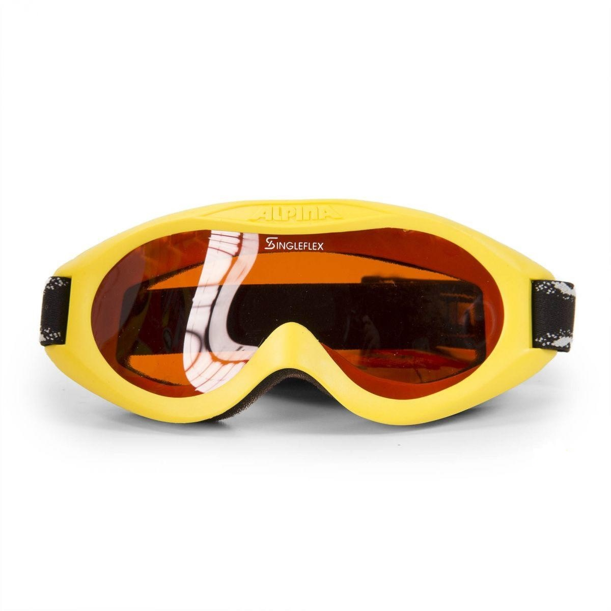 masque de ski baby alpina carvy yellow