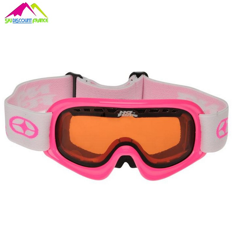 masque de ski enfant no fear pink