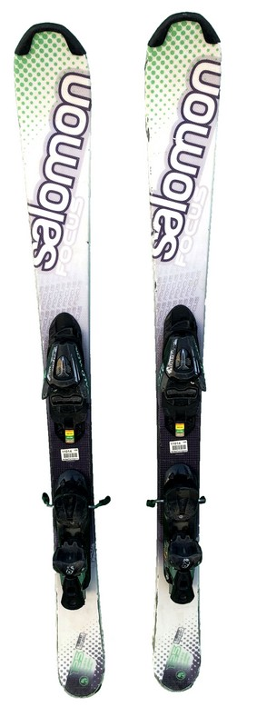 mini ski occasion salomon focus green