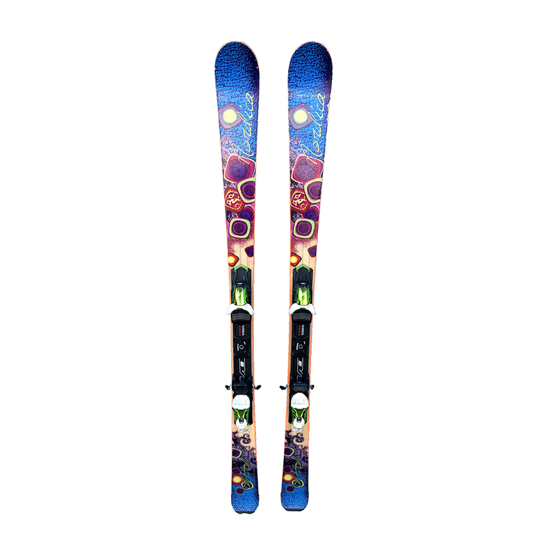 Ski Occasion Nordica Belle To Belle Taille 166cm + Fix