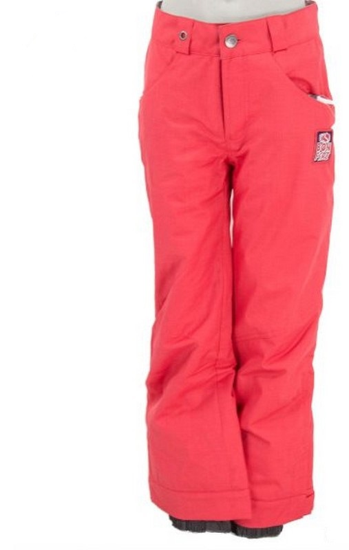 Pantalon de ski ado fille chaud bonfire tango rose
