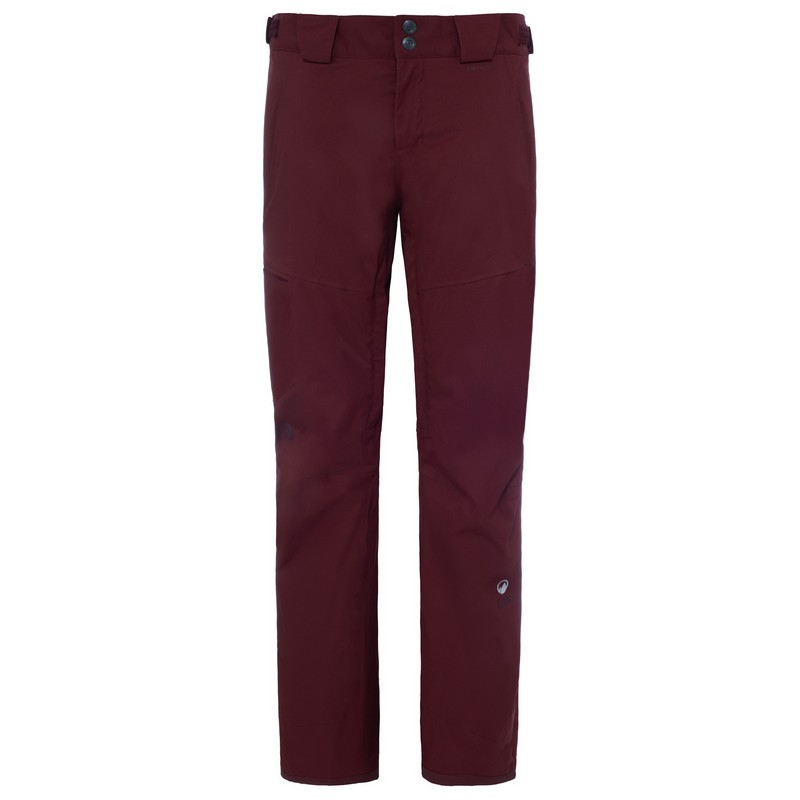 pantalon de ski femme the north face w sickline deep garnet red