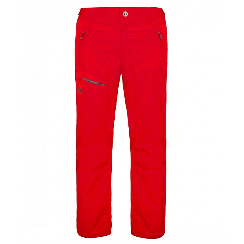 pantalon de ski homme the north face jepperson fierry red