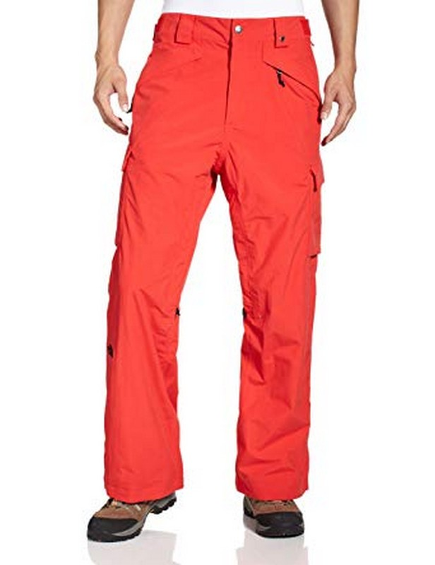 pantalon de ski the north face homme slasher cargo majestic red
