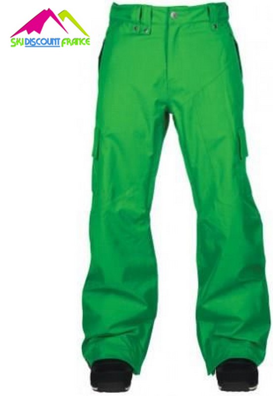 pantalon de ski junior bonfire vert taille 7 8ans 9 10ans. Black Bedroom Furniture Sets. Home Design Ideas