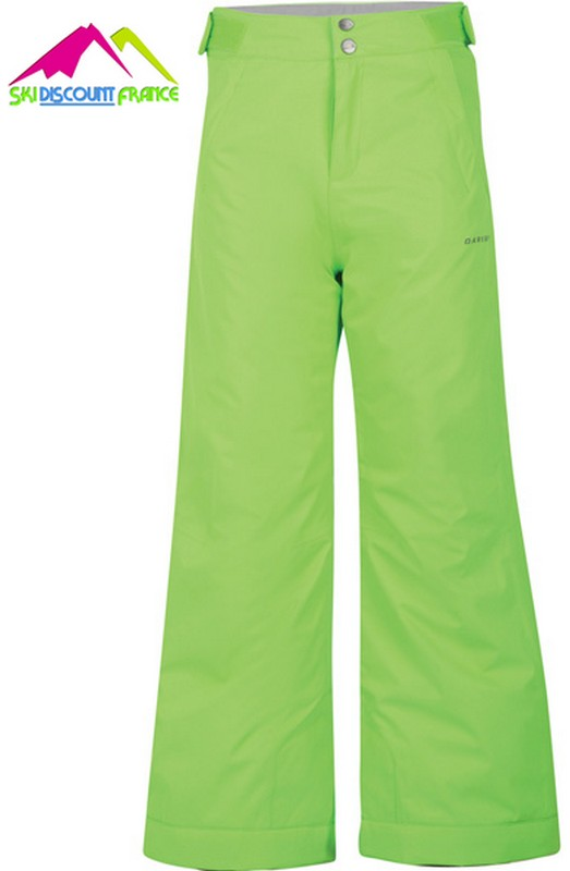 Pantalon de ski junior chaud dare 2b whirlwind neon green avant