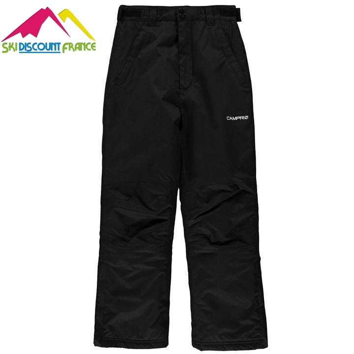 pantalon de ski neuf campri noir junior taille 7 8ans ski discount 34. Black Bedroom Furniture Sets. Home Design Ideas