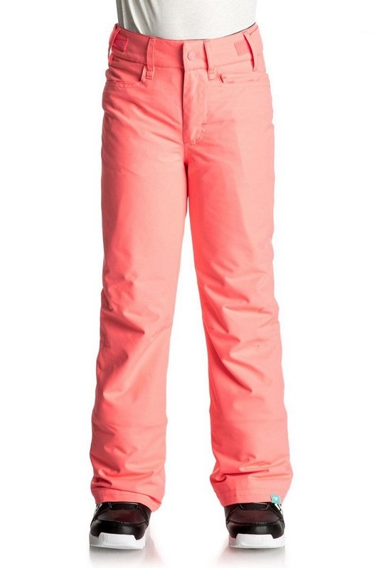 pantalon de ski enfant roxy backyard pant girl neon