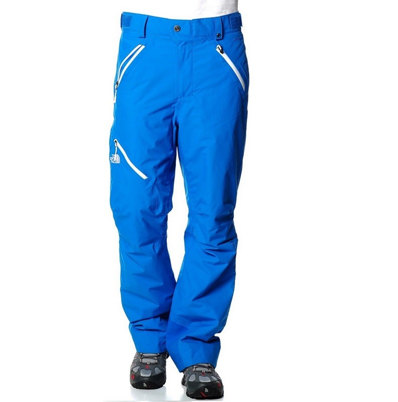 pantalon de ski homme the north face beckens athens blue