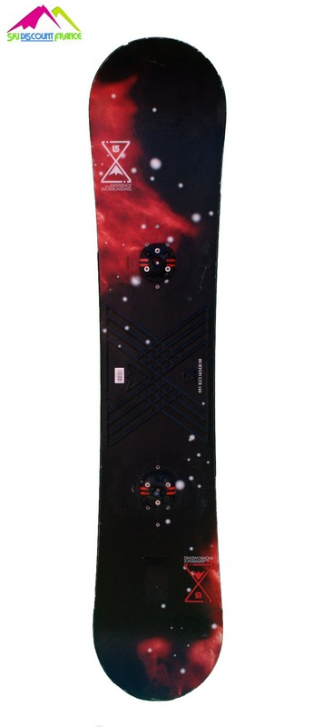 snowboard burton occasion pas cher ltr red black cosmos