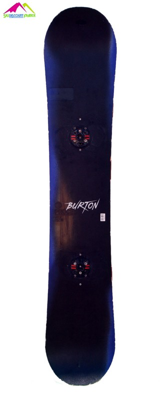Snowboard Occasion Burton Process Black Blue Brown