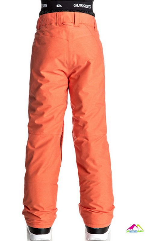 quiksilver boundry youth mandarin red