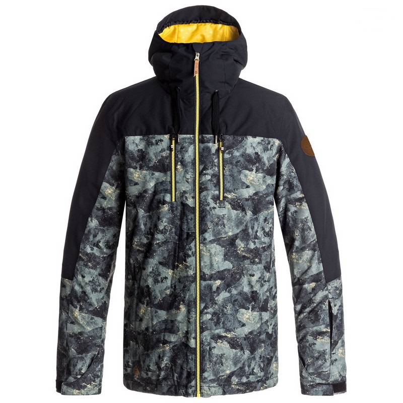 veste de ski quiksilver mission block jkt men