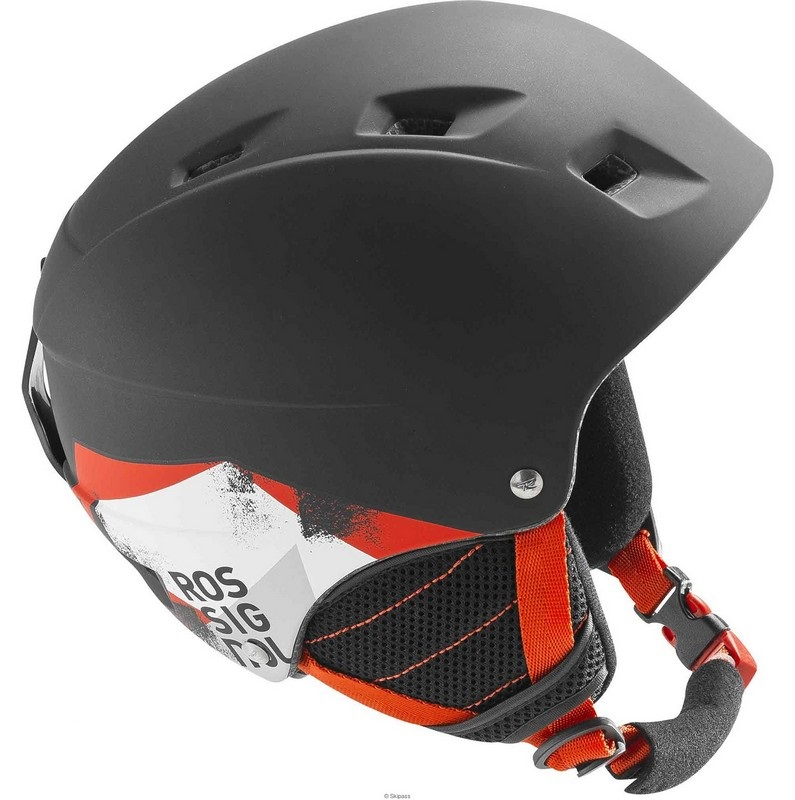 casque de ski junior rossignol comp j black led