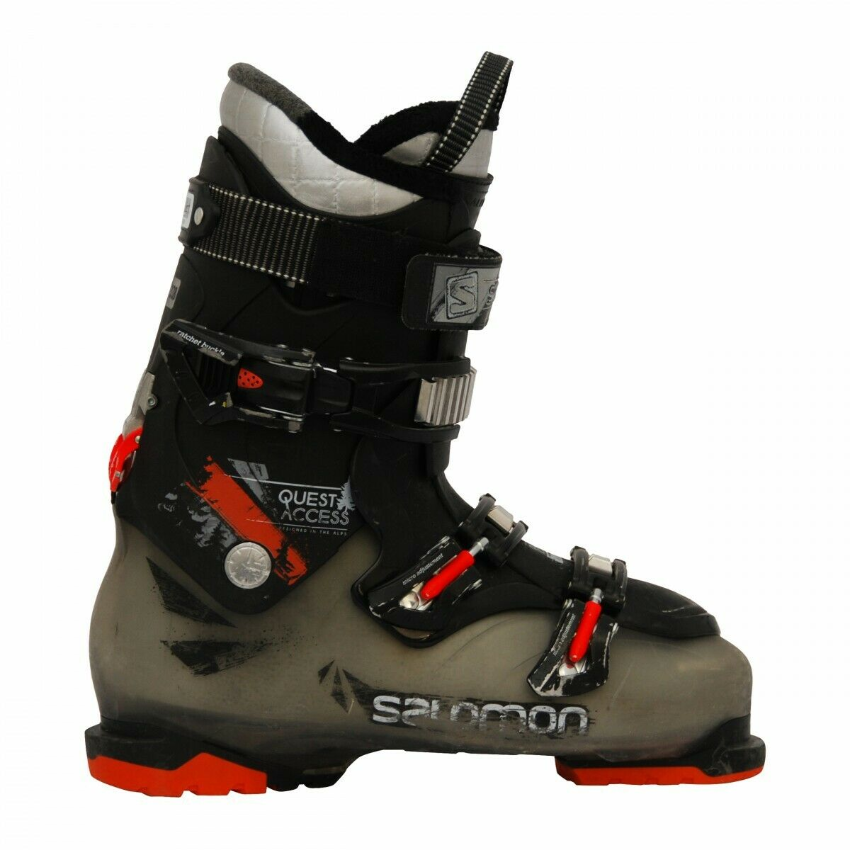 salomon quest 880 red black
