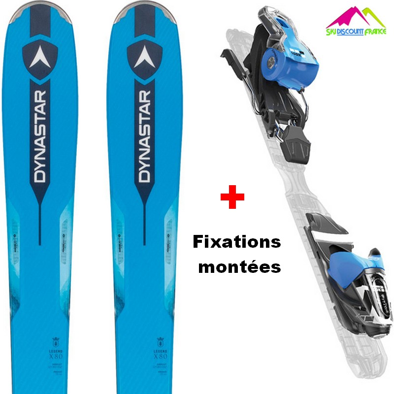 ski homme all mountain dynastar legend x80 2018 et fix look x press 11
