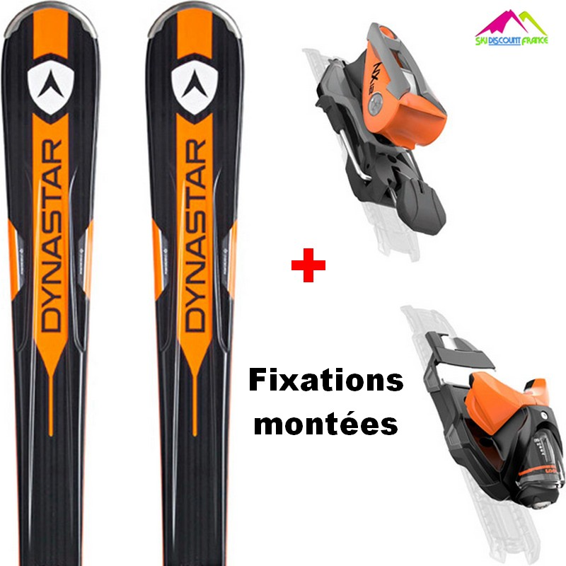 Pack Ski Neuf Dynastar Speed Zone 8 Pro CA 2018 + Fixations XPRESS 10 Taille 167cm