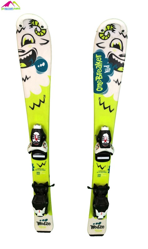ski enfant occasion wedze one breaker kid green