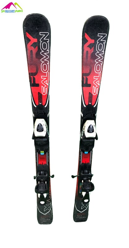 ski occasion enfant salomon x wing fury rouge