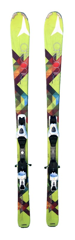 ski femme polyvalent occasion atomic affinity pure