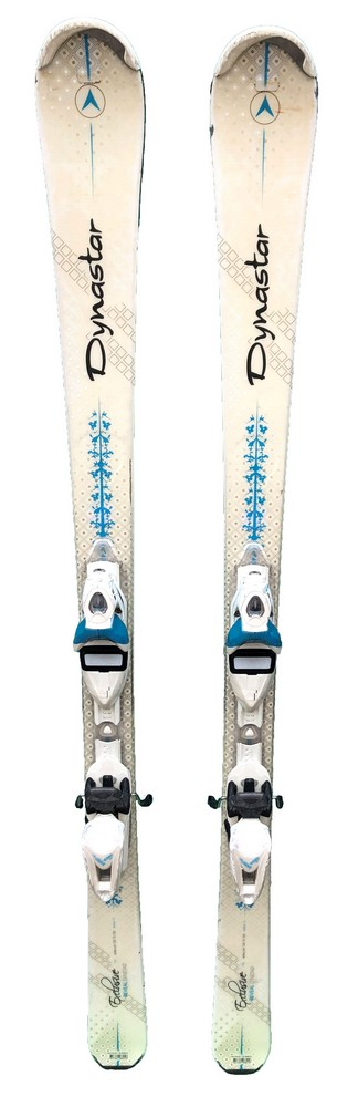 ski femme occasion dynastar exclusive reveal white turquoise
