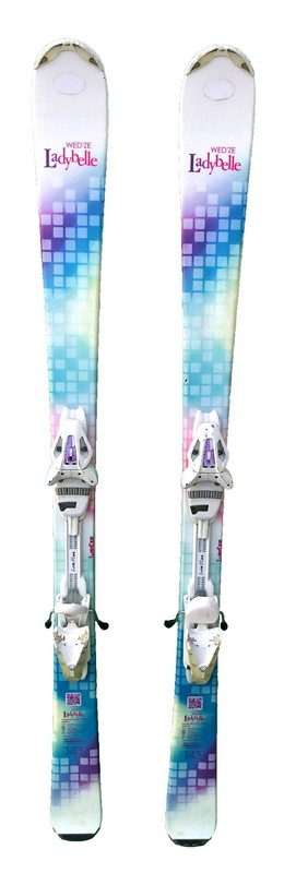 ski femme occasion wedze lady belle white blue