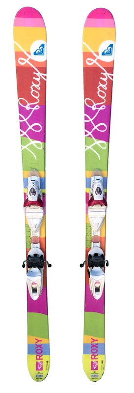 ski femme freestyle roxy freestyle bicolore