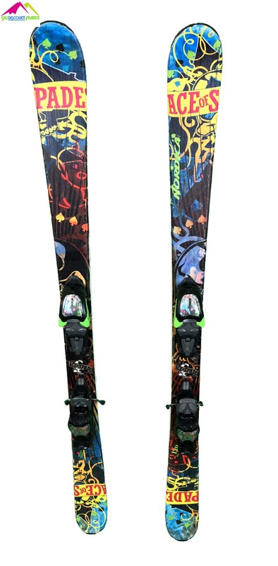 ski freestyle junior occasion nordica ace of spades bleu