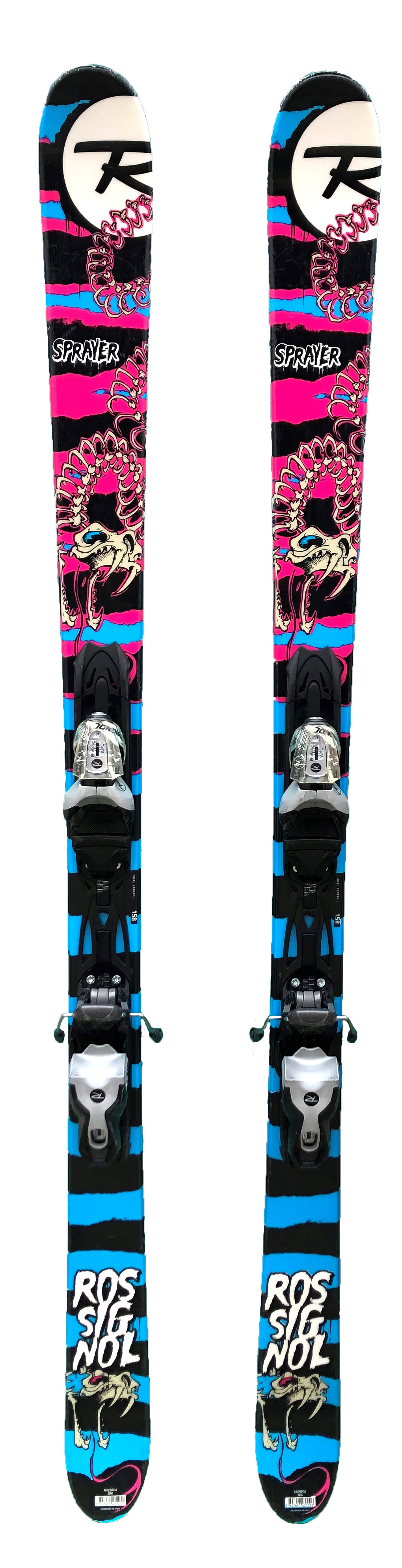 ski freestyle occasion rossignol sprayer black pink