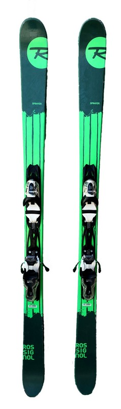 ski freestyle occasion roosignol sprayer green