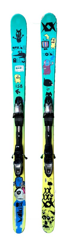 ski freestyle volkl alley blue