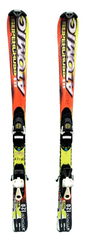 ski occasion enfant atomic supercross yellow