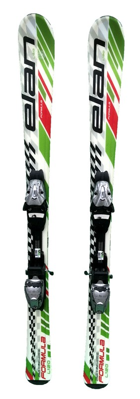 ski junior occasion elan formula green red black