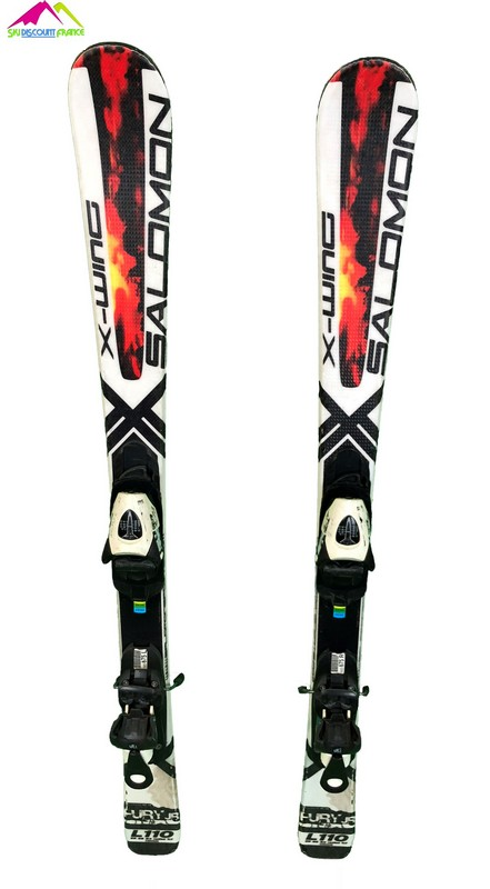 ski junior occasion x wing fury blanc