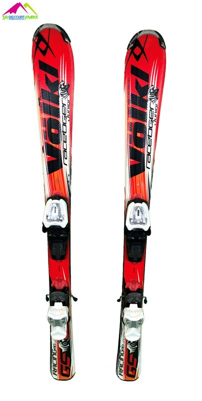 ski junior occasion volkl racetiger gs rouge