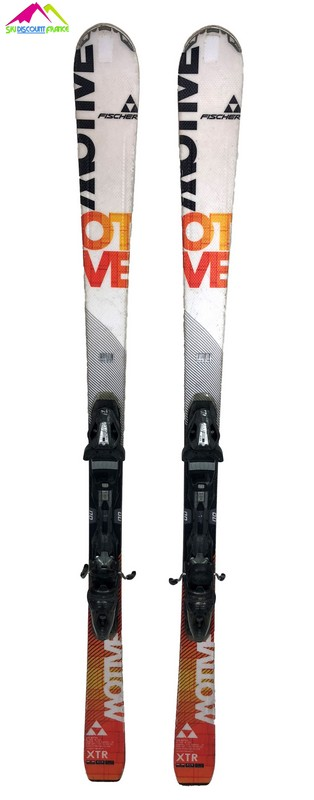 ski occasion fischer xtr motive orange