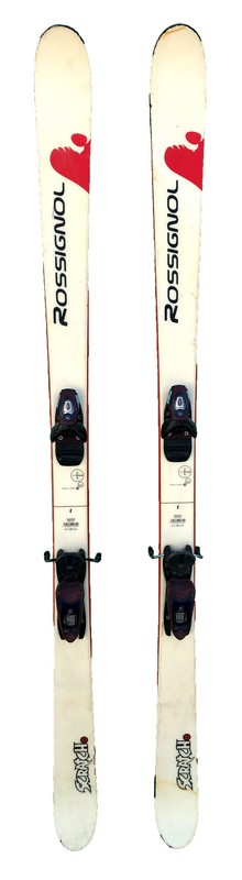ski occasion freestyle rossignol scratch white