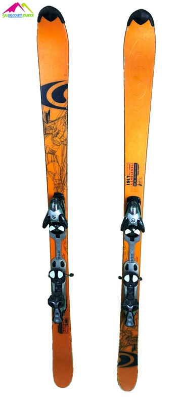 ski occasion salomon teneighty orange