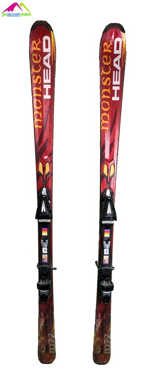 ski occasion head monster 72 m72 bordeaux