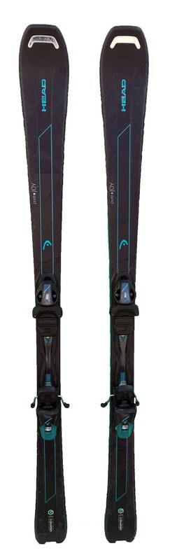 ski femme occasion head pure joy black blue