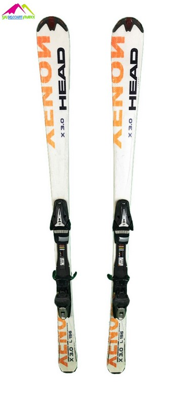ski occasion head xenon 3.0 blanc orange